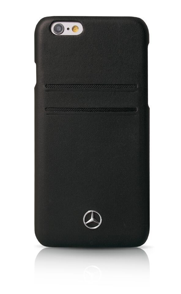 Mercedes benz iphone 6 6s leather case for Www mercedes benz mobile com iphone