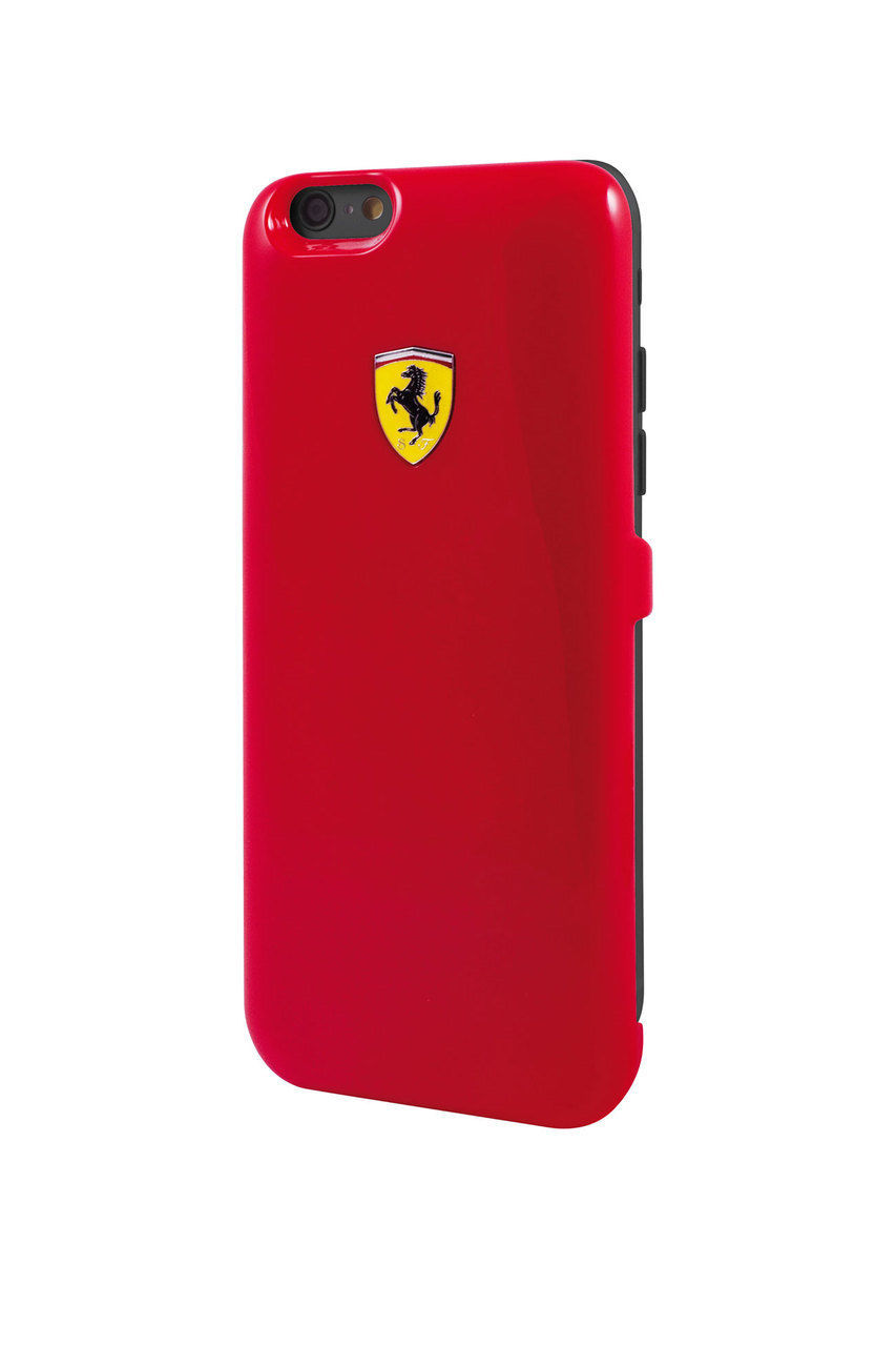 new product bb7b7 46029 Official Ferrari FEFOBCP6RE Red Battery Case iPhone 6/6S 3000 mAh