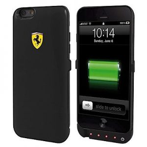 Ferrari Black Battery Case iPhone 6/6S