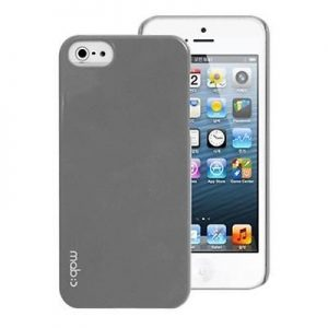 Dark Gray Apple iPhone Case