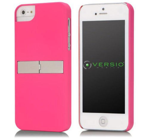 Pink Hard Shell Case with Stand